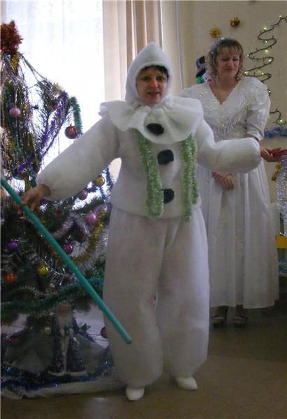Костюм новогодний взрослый своими руками фото