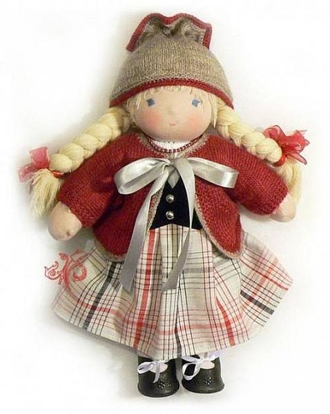 Куклы сделанные своими руками картинки