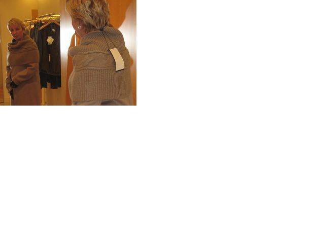 Описание вязания шарфа косами их мохера.  Набрать на спицы 62 петли.