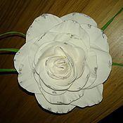 Заколки ручной работы. Ярмарка Мастеров - ручная работа Роза заколка, брошь. Handmade.