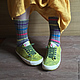 Носки вязаные Stripes, Носки, Москва, Фото №1