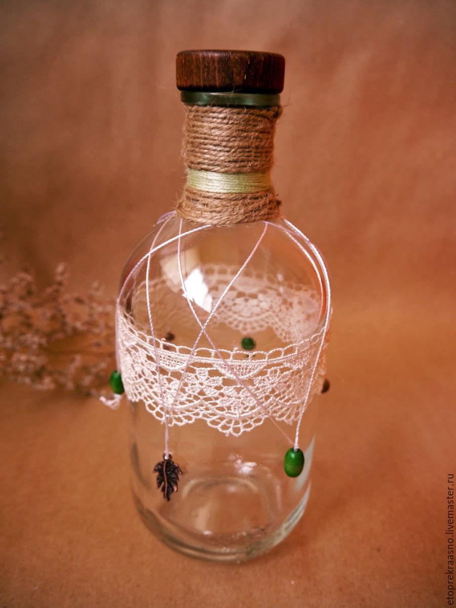 Набор стекла в стиле бохо
