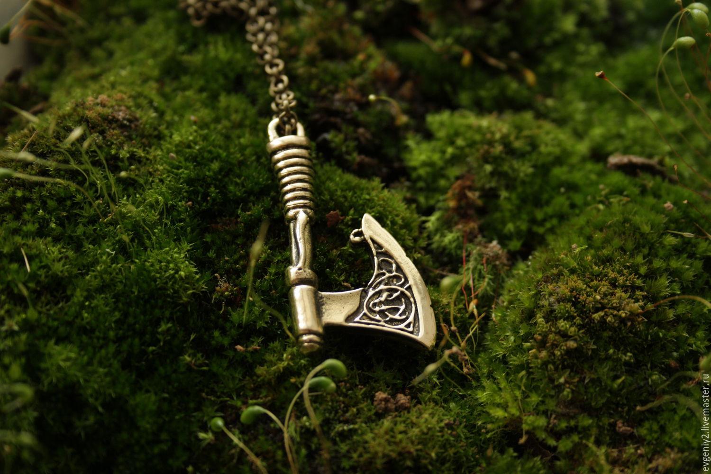 pendant-axe of Perun ,the axe pendant, Chokers, Volgograd,  Фото №1