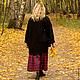 Верхняя одежда ручной работы. Пальто со спущенным рукавом из шерсти art.C1. MUHA (vintagechic). Ярмарка Мастеров. Шерсть