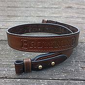 Сувениры и подарки handmade. Livemaster - original item Strap running on the carbine mod.6.2 Browning Choko. Handmade.