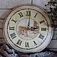 Настенные часы `Старинные` вариант-1.