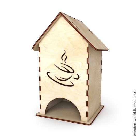 """Декупаж и роспись ручной работы. Ярмарка Мастеров - ручная работа. Купить Чайный домик """"Кружка чая"""". Handmade. Чайный домик"""