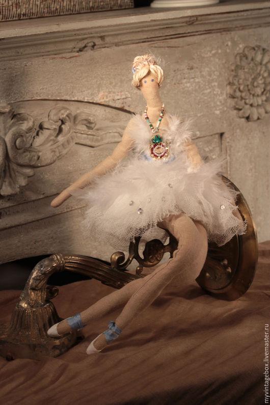 """Куклы Тильды ручной работы. Ярмарка Мастеров - ручная работа. Купить Тильда """"Майя"""". Handmade. Белый"""