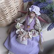 Куклы и игрушки ручной работы. Ярмарка Мастеров - ручная работа Прованс... Тильда ангел Лавандовая фея III. Handmade.