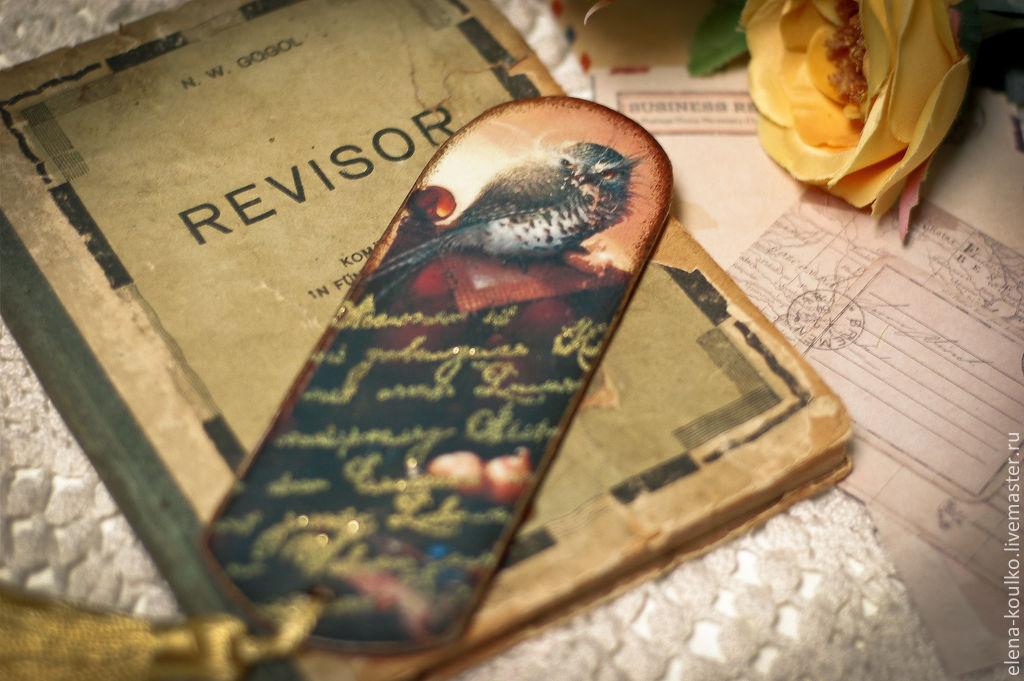 Фото закладок своими руками для книг