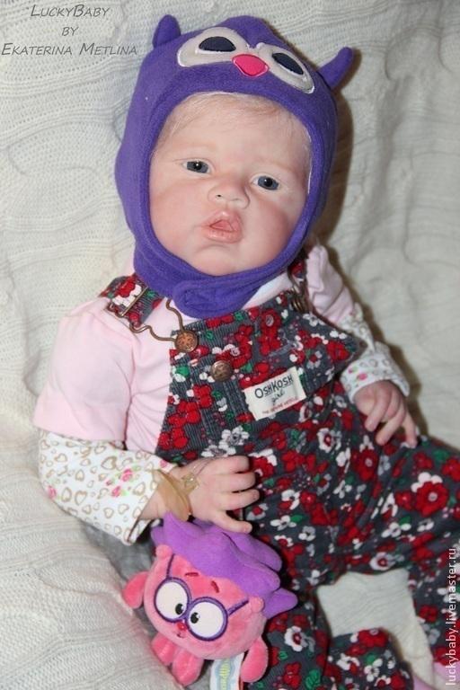 Куклы-младенцы и reborn ручной работы. Ярмарка Мастеров - ручная работа. Купить Кукла реборн Злата.. Handmade. Кукла реборн