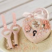 Свадебный салон handmade. Livemaster - original item Wedding lock