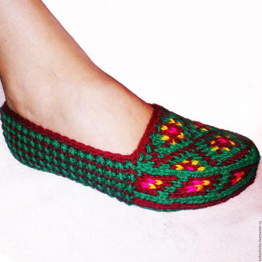 Этническая одежда ручной работы. Ярмарка Мастеров - ручная работа. Купить Джурабы. Домашняя обувь. Handmade. Разноцветный, джурабы купить