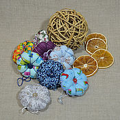 Елочные игрушки ручной работы. Ярмарка Мастеров - ручная работа Ёлочные игрушки текстильные. Handmade.