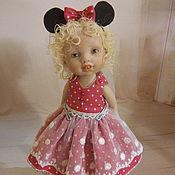 Куклы и игрушки ручной работы. Ярмарка Мастеров - ручная работа малышка  Микки. Handmade.