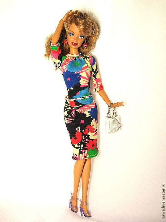 платье Цветочный микс