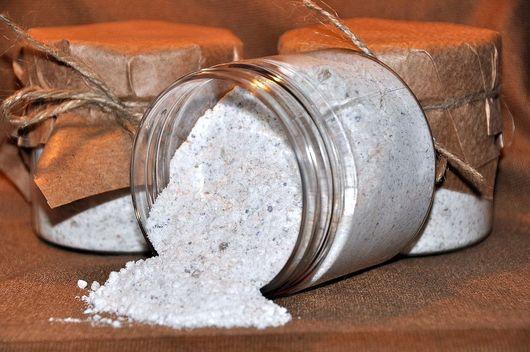 """Соль для ванны ручной работы. Ярмарка Мастеров - ручная работа. Купить """"Кокосовое молочко"""" ароматическая соль для ванны. Handmade."""
