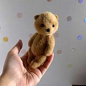 Куклы и игрушки ручной работы. Ярмарка Мастеров - ручная работа Миниатюра мишка тедди Salt. Handmade.