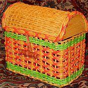 Для дома и интерьера ручной работы. Ярмарка Мастеров - ручная работа Сундучок. Handmade.