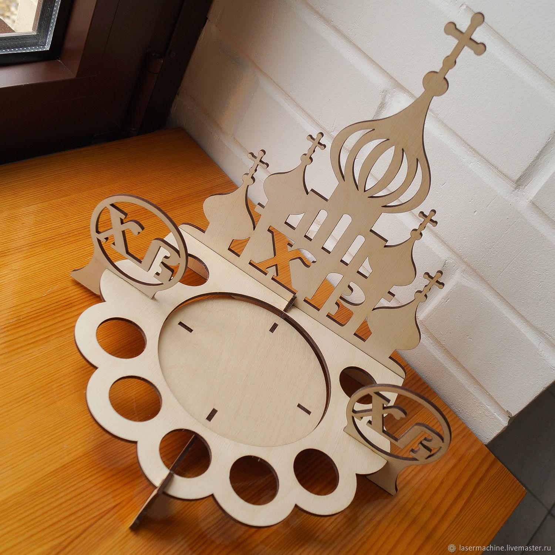 Пасхальная подставка для кулича, Декор для декупажа и росписи, Ярославль,  Фото №1