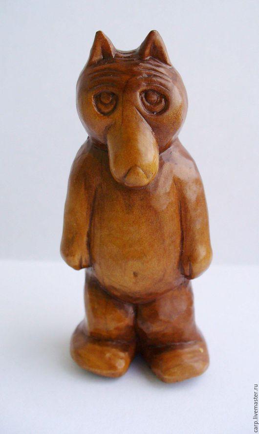 """Миниатюрные модели ручной работы. Ярмарка Мастеров - ручная работа. Купить """"Волчок"""". Handmade. Коричневый, резьба по дереву"""