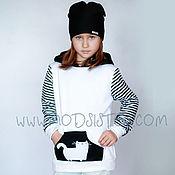 Одежда детская handmade. Livemaster - original item Hoodie