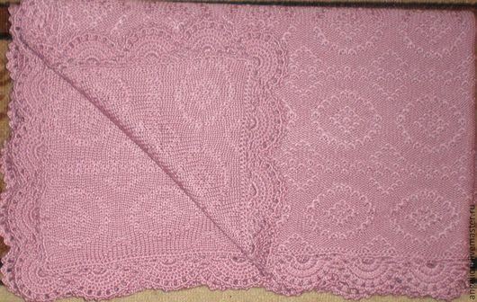 Пледы и одеяла ручной работы. Ярмарка Мастеров - ручная работа. Купить Плед детский. Handmade. Розовый, плед для новорожденного, акрил