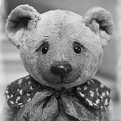 Stuffed Toys handmade. Livemaster - original item Teddy bear retro style. Handmade.