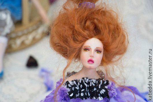 Коллекционные куклы ручной работы. Ярмарка Мастеров - ручная работа. Купить Автоская кукла из полимерной глины болтушка Амфибиола. Handmade.