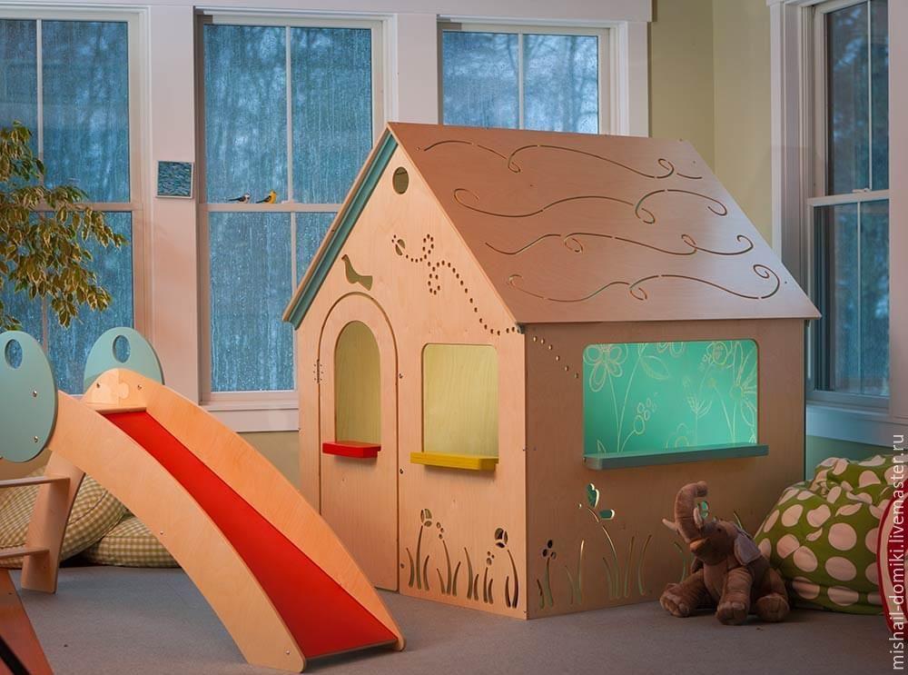 Мебель в детскую своими руками из фанеры 31