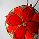 елочные шары купить декоративный шар лоскутный шар подарок на новый год к новому году новогодний шар ручной работы новогодний подарок сувенир магазин новогодних украшений кимэкоми кимекоми chochin Мар