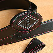 Аксессуары handmade. Livemaster - original item Belt with buckle