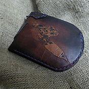 """Сумки и аксессуары handmade. Livemaster - original item Кошелек """"tattoo machine"""".. Handmade."""