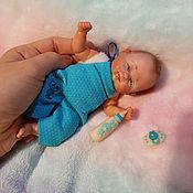 Куклы и пупсы ручной работы. Ярмарка Мастеров - ручная работа Мини реборн из полимерной глины малыш Кирюша. Handmade.
