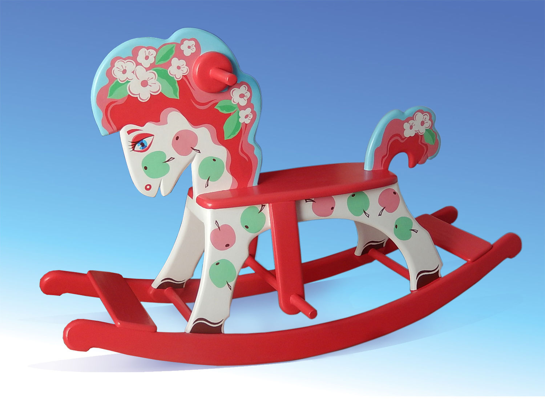 Новая модель. Конь в яблоках. Цена 5000 руб.