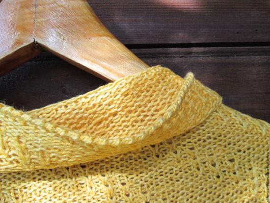 """Шали, палантины ручной работы. Ярмарка Мастеров - ручная работа. Купить Косынка-шарф """"Осень. Солнце."""" Ручная работа. Handmade."""