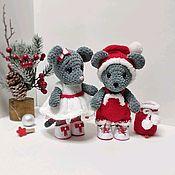 Куклы Тильда ручной работы. Ярмарка Мастеров - ручная работа Мышка игрушка. Handmade.