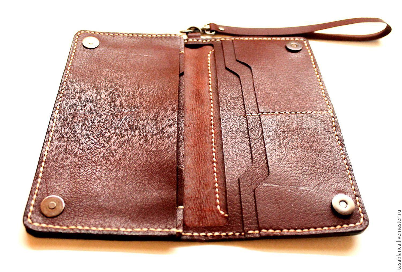 Кожаные портмоне своими руками фото 12