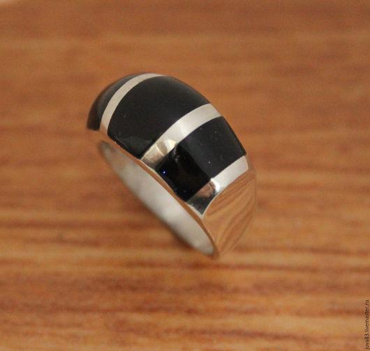 Кольца ручной работы. Ярмарка Мастеров - ручная работа. Купить Серебряное кольцо с авантюрином, серебро 925. Handmade. Тёмно-синий
