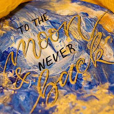 Для дома и интерьера ручной работы. Ярмарка Мастеров - ручная работа To the Moon and never back. Handmade.