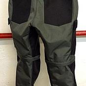 Мужская одежда handmade. Livemaster - original item Pants for men: Motorcycle trousers textile. Handmade.