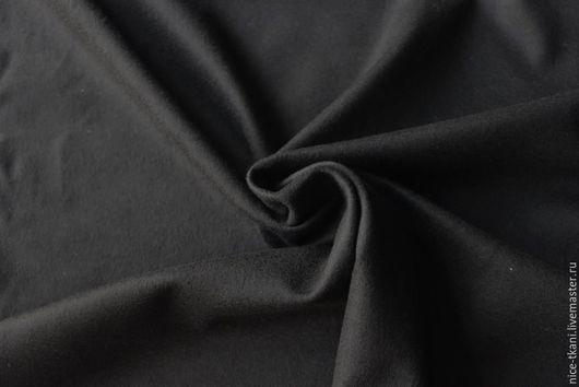 Шитье ручной работы. Ярмарка Мастеров - ручная работа. Купить Ткань 3401 Тонкая итальянская 100% шерсть. Handmade. Черный