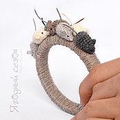 Украшения ручной работы. Ярмарка Мастеров - ручная работа Браслет с  мышиной компанией. Handmade.