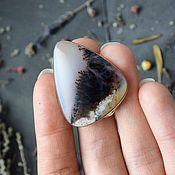 Украшения handmade. Livemaster - original item Ring with moss agate (dendro agate). Handmade.