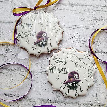 Сувениры и подарки ручной работы. Ярмарка Мастеров - ручная работа Пряники на Хеллоуин. Handmade.