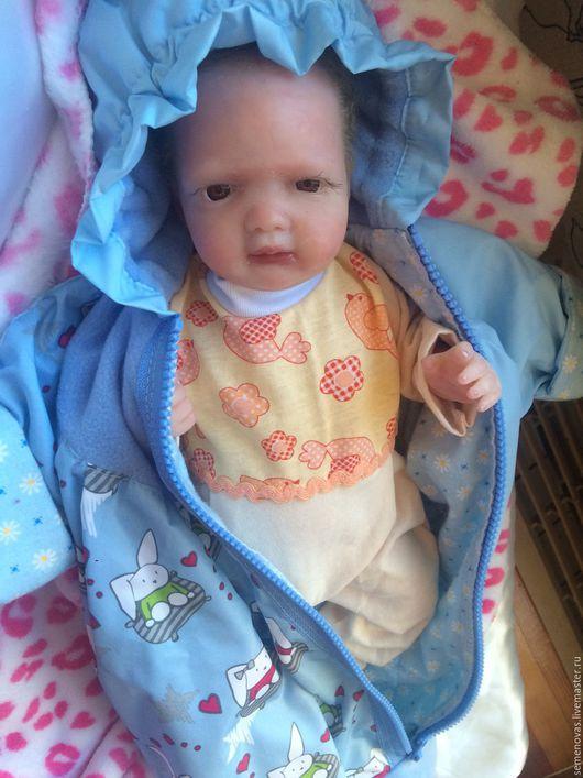 Куклы-младенцы и reborn ручной работы. Ярмарка Мастеров - ручная работа. Купить Силиконовый малыш 37см. Handmade. Бежевый, селеконовый
