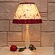 """Освещение ручной работы. Ярмарка Мастеров - ручная работа. Купить Настольная лампа """"Цветочница"""". Handmade. Настольная лампа, стильный аксессуар"""
