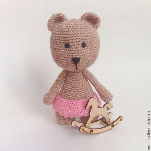Игрушки животные, ручной работы. Ярмарка Мастеров - ручная работа. Купить мими-мишки (девочка). Handmade. Вязание крючком