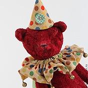 Куклы и игрушки ручной работы. Ярмарка Мастеров - ручная работа Мишка тедди Арлекин - мягкая игрушка. Handmade.