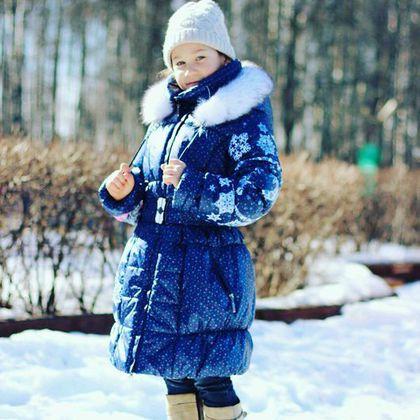 Одежда для девочек, ручной работы. Зимнее пальто для девочек с капюшоном. Наталья (tvorilochki). Ярмарка Мастеров. Купить пальто для девочки